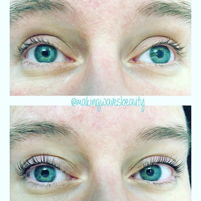 Niagara Falls Lash lift and tint at NV Beauty Boutiue